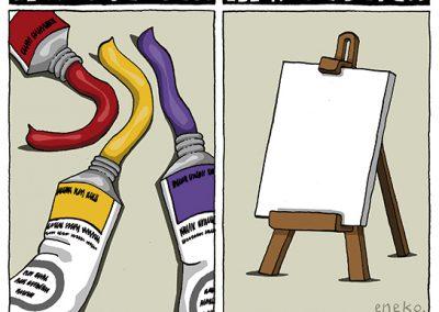 Viñetas para la reflexión sobre la necesidad de cambio de Monarquía a República en España de múltiples humoristas gráficos