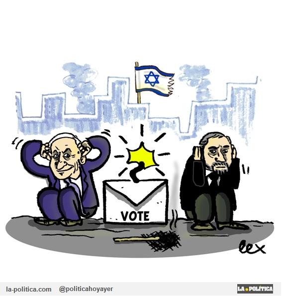 «Israel, otra vuelta de tuerca» Viñeta Lex un artículo de Doctor Kolimari sobre #PolíticaInternacional