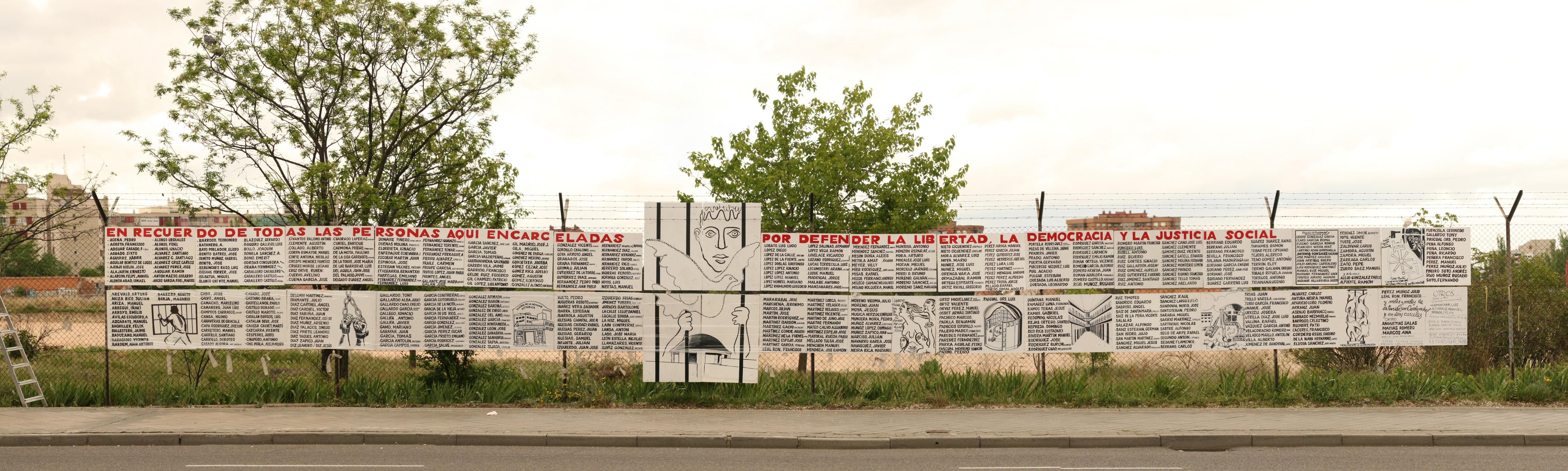 Víctimas del franquismo. Cárcel de Carabanchel