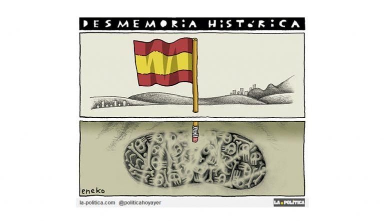 La Memoria Histórica es dignidad Viñeta Eneko Artículo Caracola