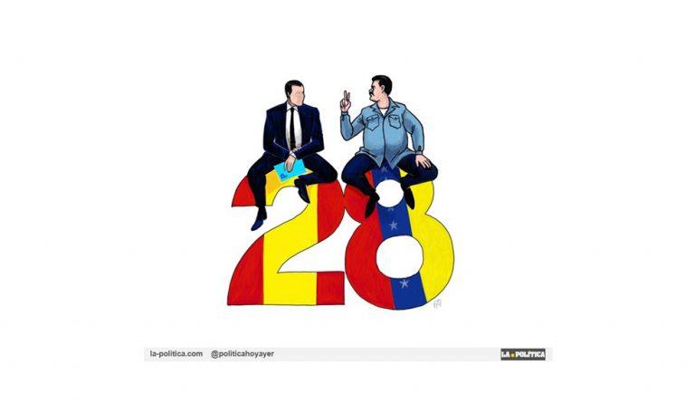 «Don Kent y Maduro Panza» Artículo y viñetaRamón Nsé Esono,JamónyQueso