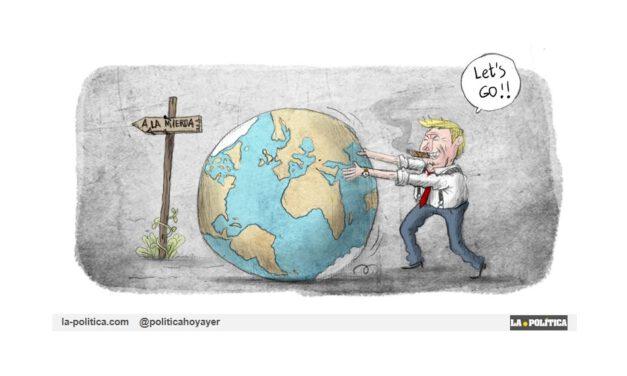 Muchos dirigentes actuales continúan negando el cambio climático, si les dejamos nos llevarán al desastre medioambiental
