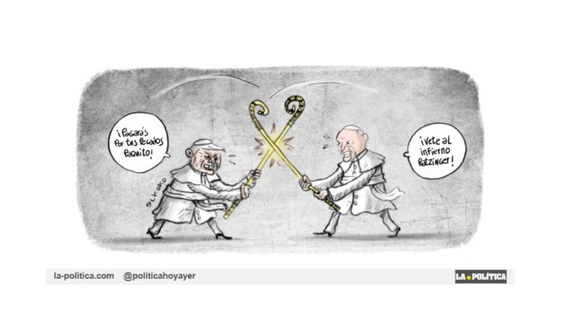 Guerra interna en el Vaticano