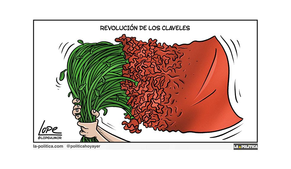 La Revolución de los Claveles de Portugal, un ejemplo de como militares demócratas trajeron la democracia al pueblo