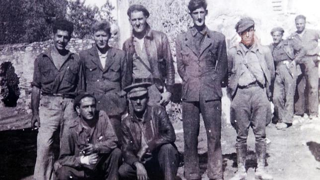 Fotografía de George Orwell en la Guerra Civil Española