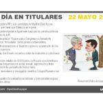 22 de mayo – 2019 El Día en Titulares