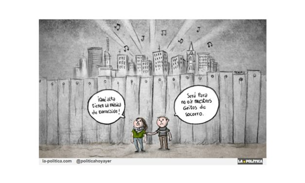"""Personalidades de la cultura de todo el mundo se han manifestado contra el Festival de Eurovisión de Netanyahu, """"El Führer judío"""""""