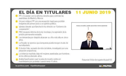 11 de junio 2019 – El Día en Titulares