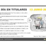 13 de junio 2019 – El Día en Titulares