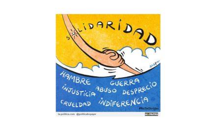 Artistas plásticos y ciudadanía se reúnen en el Día Mundial de los Refugiados en Santander para reclamar vías legales y seguras