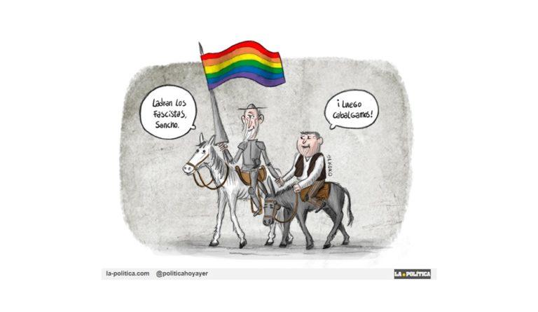 «Con mucho orgullo» Viñeta El koko Artículo Caracola
