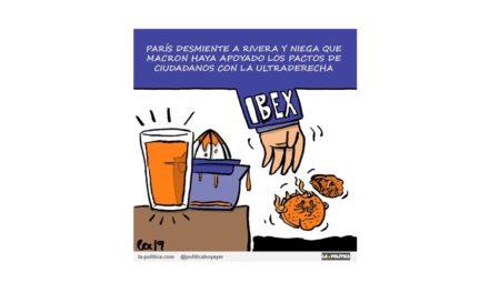 ¿Tiene el IBEX ya recambio para Ciudadanos? ¿Manuel Valls?
