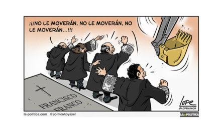 "Tengo empacho de esta ""democracia franquista"""