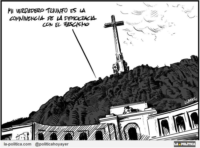 Viñeta de Lumpen - Franco - Valle de los Caídos