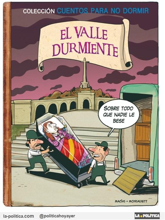 Viñeta de Macías y Monsalvett - Franco