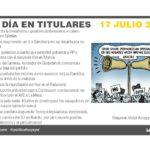 17 julio de 2019 – El Día en Titulares