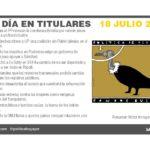 18 julio de 2019 – El Día en Titulares