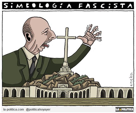Simbología fascista. (Viñeta Eneko)