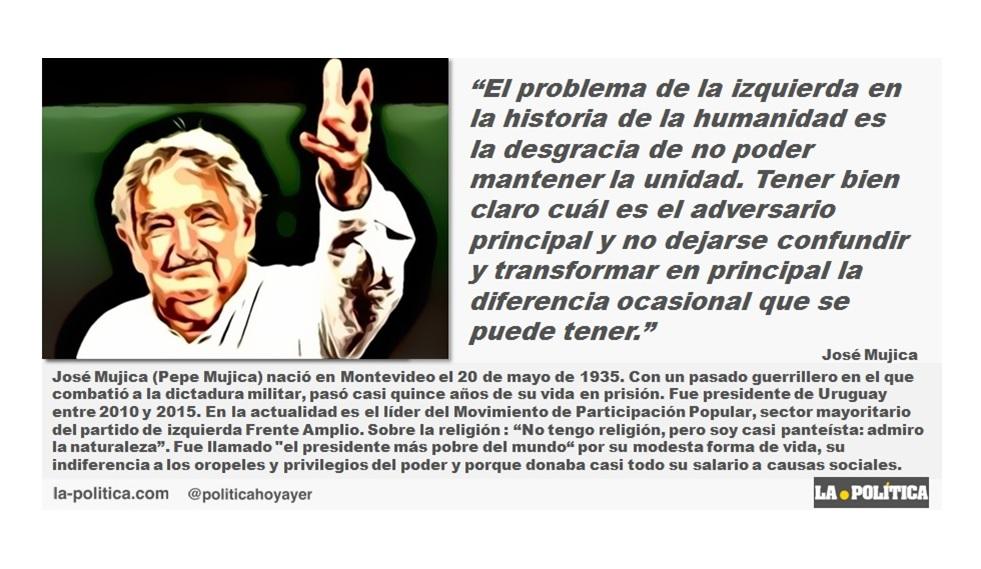 """José Mujica: """"El problema de la izquierda"""""""