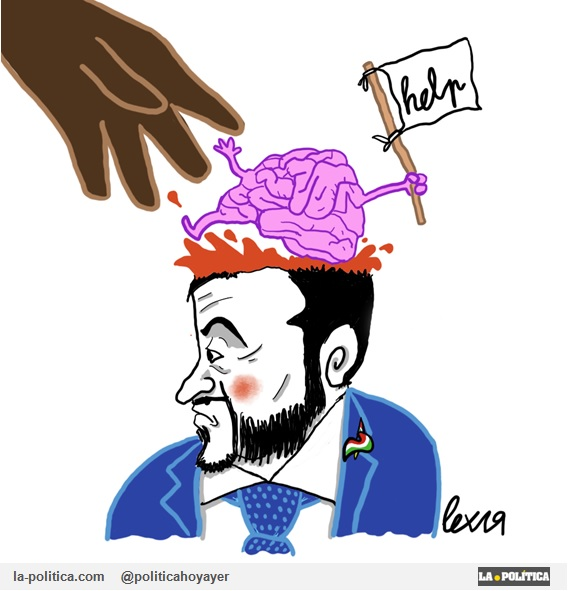 Viñeta de Lex - Salvini