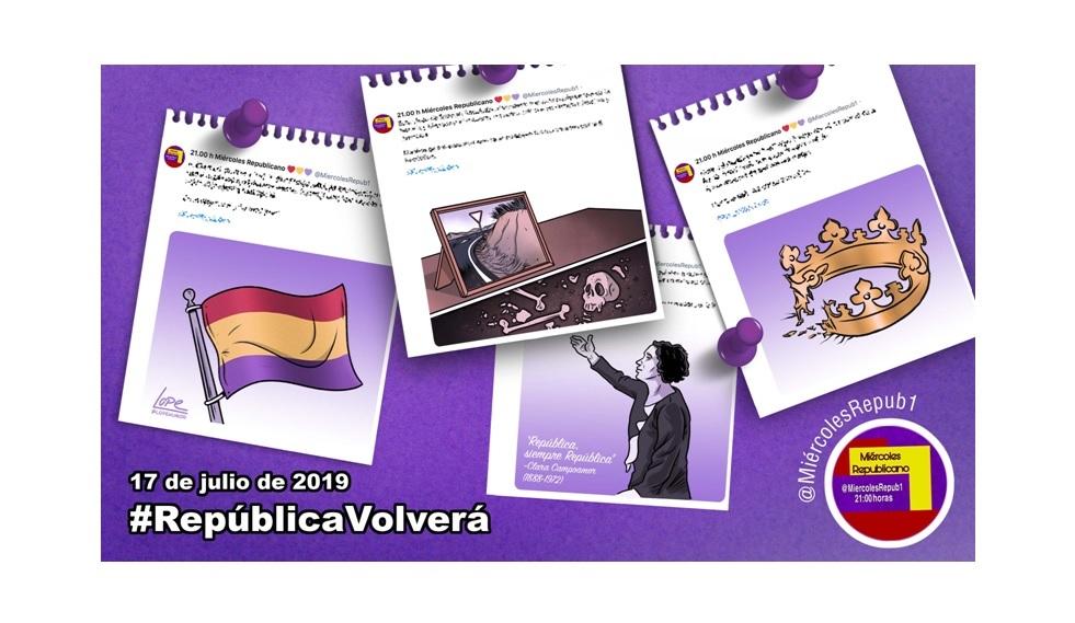 """""""La selección de Miércoles Republicano"""" #RepúblicaVolverá 17 de julio de 2019"""