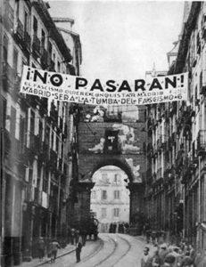 """No pasarán"" Madrid. Guerra Civil Española"