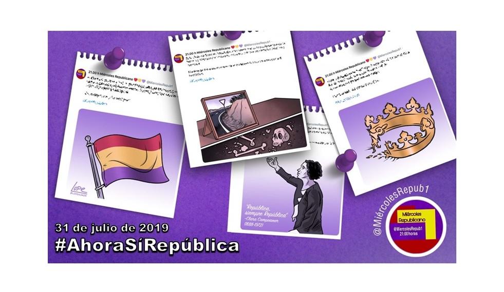 """""""La selección de Miércoles Republicano"""" #AhoraSíRepública 31 de julio de 2019"""