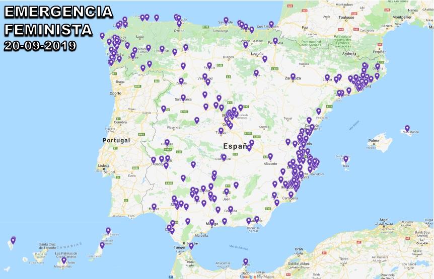 Mapa de Emergencia Feminista 20-09-2019