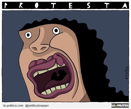 Protesta (Viñeta de Eneko)