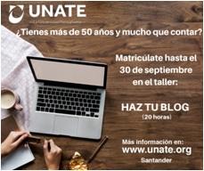 Taller para crear un blog - UNATE