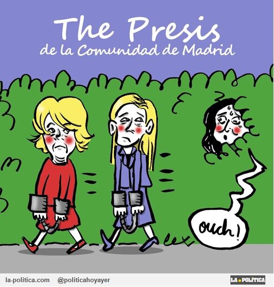 The Presis de la Comunidad de Madrid. - Ouch (Viñeta de Lope)