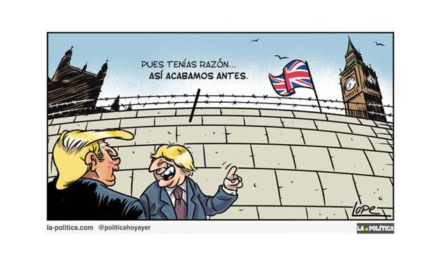 #StopTheCoup: La ley para impedir un Brexit duro supera su primera votación en el Parlamento del Reino Unido