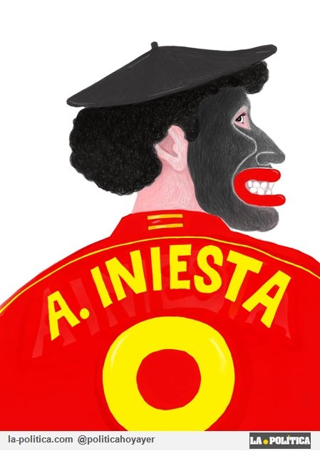 A. Iniesta (Viñeta de JamónYQueso)