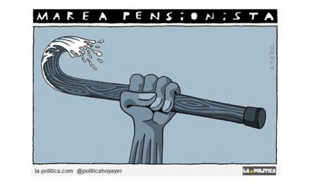 """Llega la """"Marea Pensionista"""" hasta el Congreso para exigir que se blinden las pensiones en la Constitución y su revalorización conforme al IPC"""