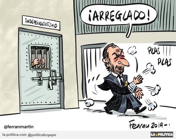 ¡ARREGLADO! (Viñeta de Ferran Martín)