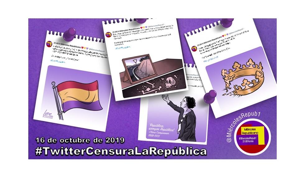 La selección de Miércoles Republicano #TwitterCensuraLaRepública 16 de octubre de 2019
