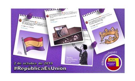 La selección de Miércoles Republicano #RepúblicaEsUnión 2 de octubre de 2019