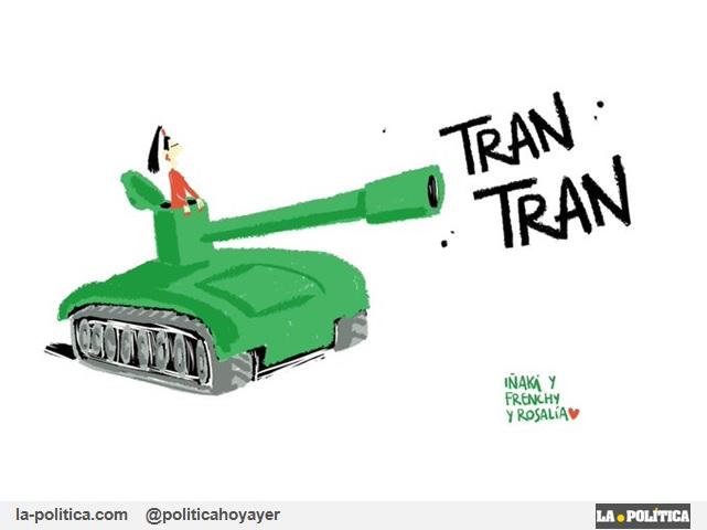 """ROSALÍA """"TRAN TRAN"""" (Viñeta de Iñaki y Frenchy)"""
