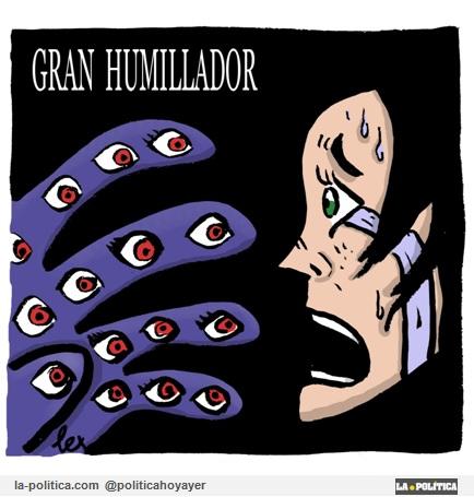 GRAN HUMILLADOR. (Viñeta de Lex)
