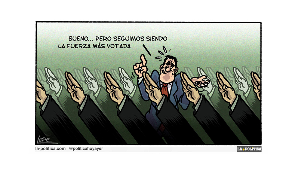 Y Pedro Sánchez ganó las elecciones, perdiendo
