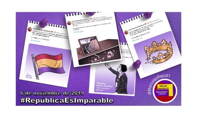 La selección de Miércoles Republicano #RepúblicaEsImparable 6 de noviembre de 2019