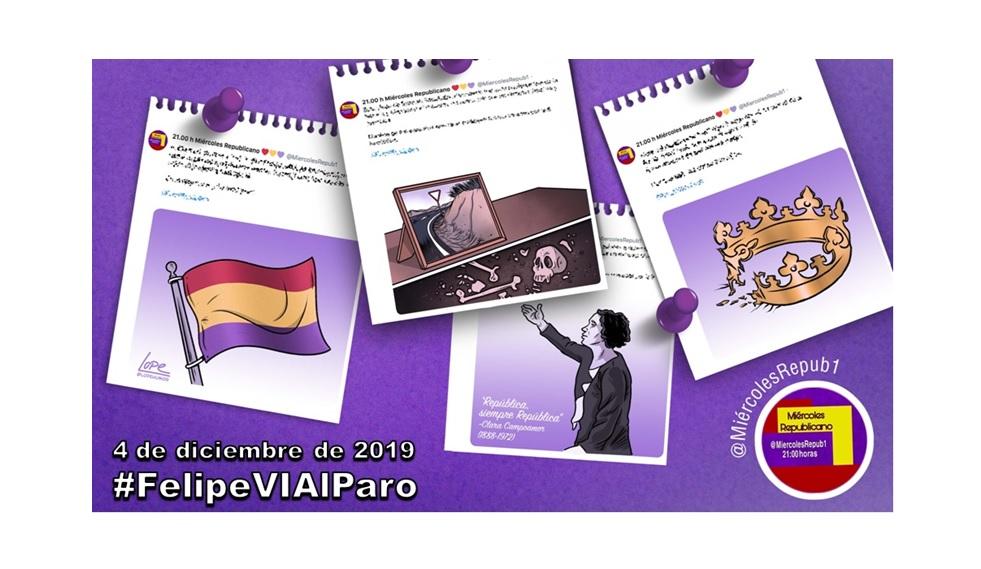 La selección de Miércoles Republicano #FelipeVIAlParo 4 de diciembre de 2019