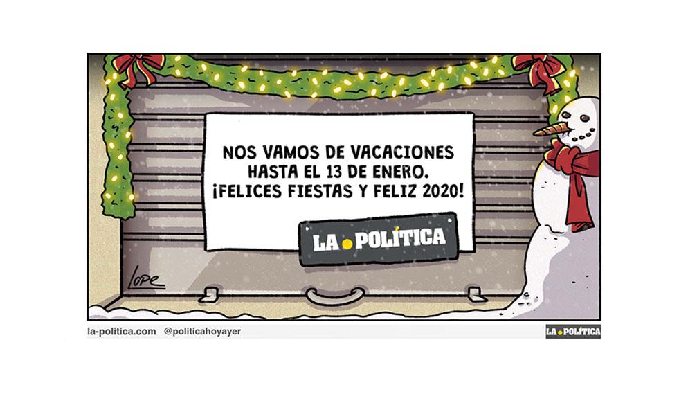 ¡Felices Fiestas y Feliz 2020!