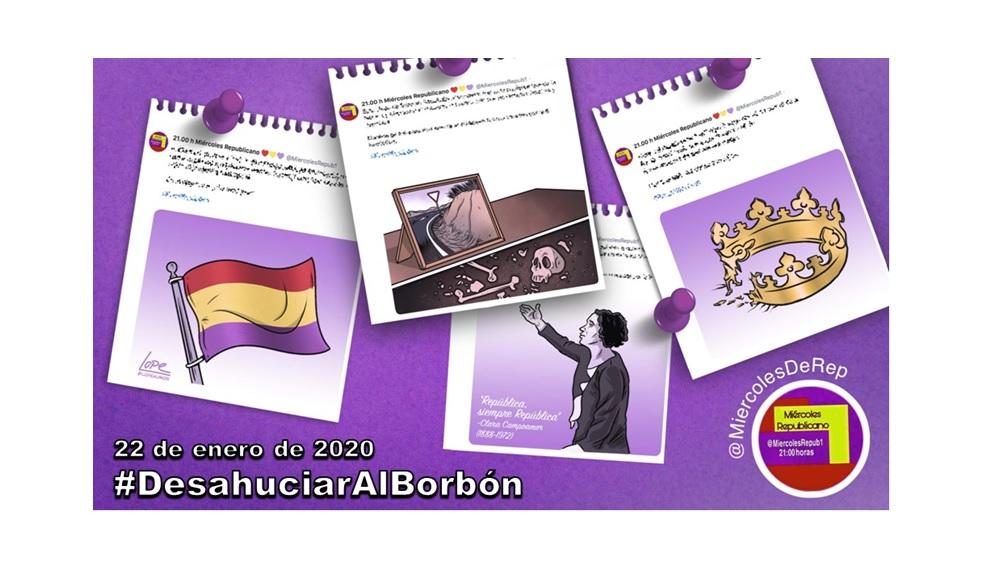 La selección de Miércoles Republicano #DesahuciarAlBorbón 22 de enero de 2020