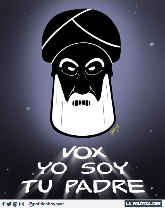 VOX YO SOY TU PADRE (Viñeta de Pedripol)
