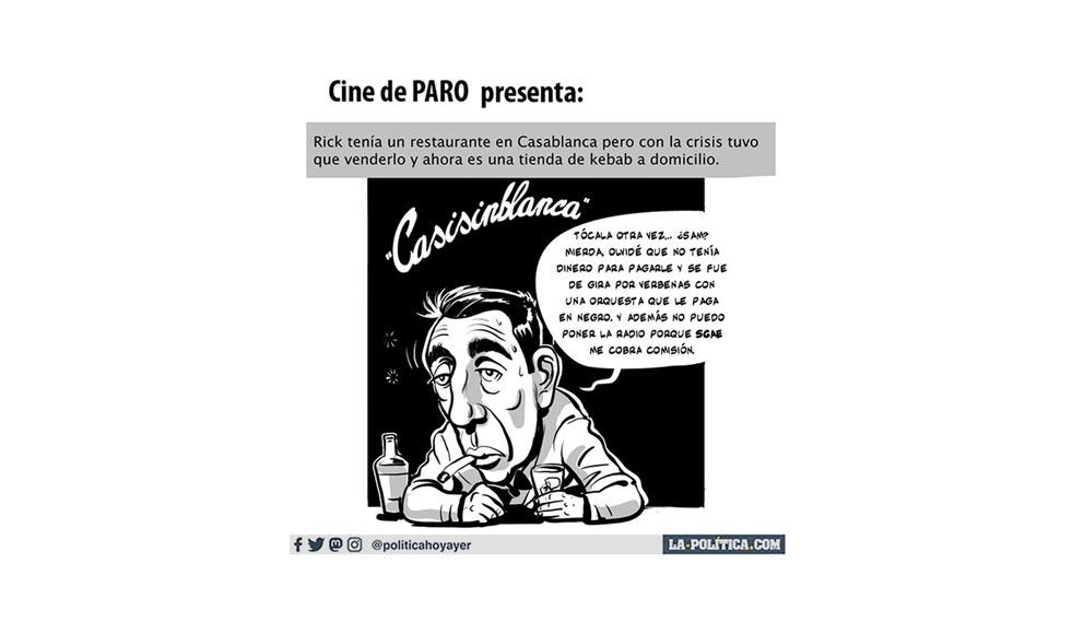 "Cine de paro presenta: ""Casisinblanca"""