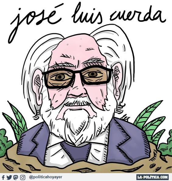José Luis Cuerda (Viñeta de Lex)