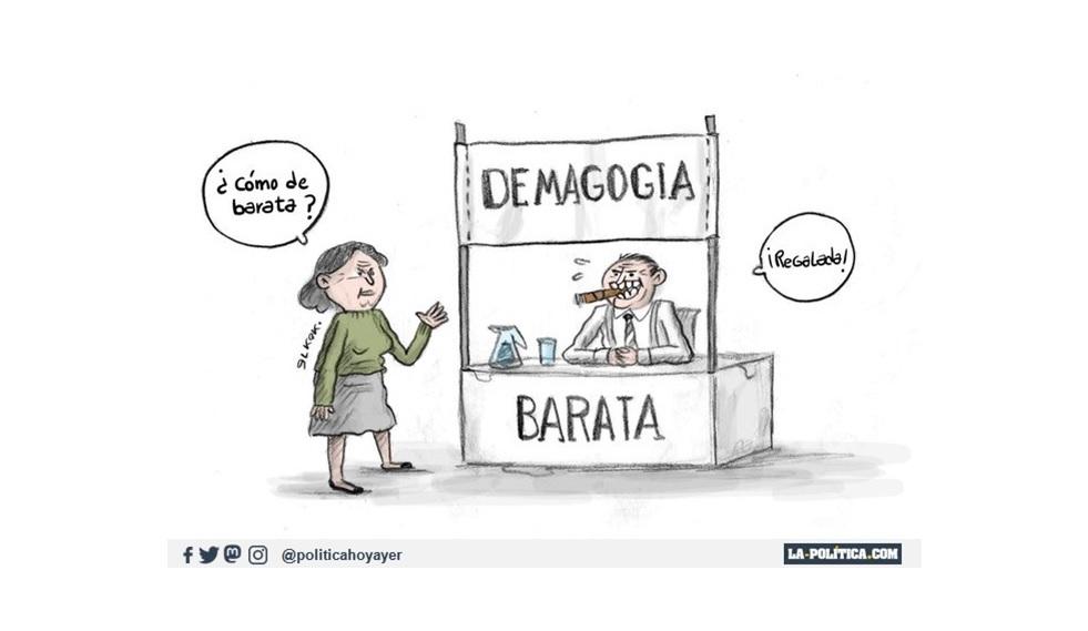 Demagogia barata