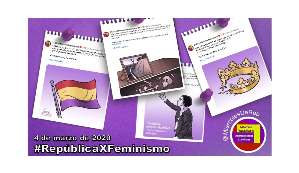 4 de marzo de 2020. La selección de Miércoles Republicano #RepúblicaXFeminismo