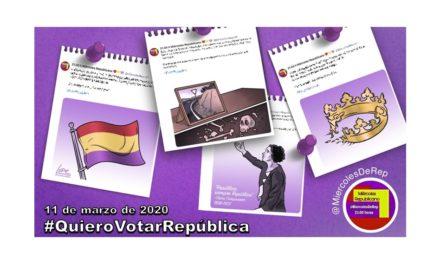11 de marzo de 2020. La selección de Miércoles Republicano #QuieroVotarRepública